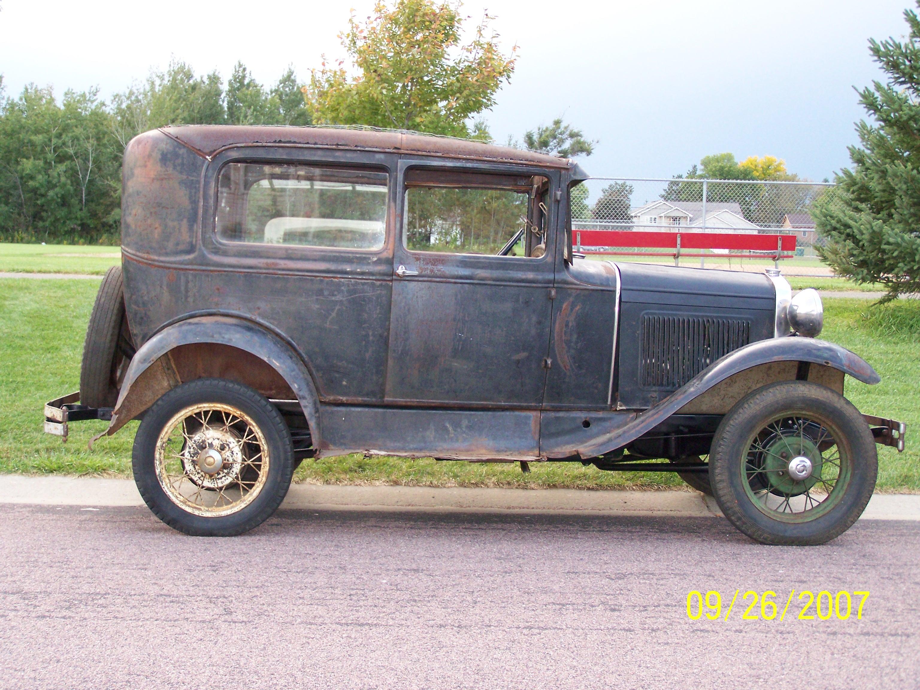 1930 Model A Ford Tudor Sedan